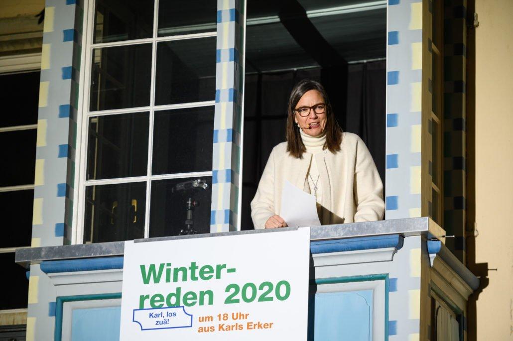 Esther-Mirjam de Boer bei Winterreden
